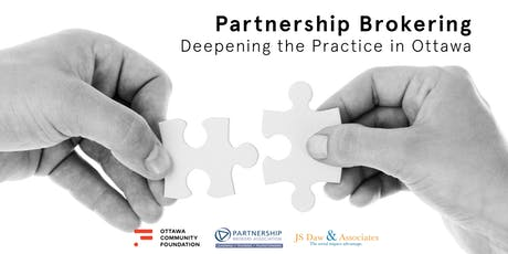 Partnership Brokering – Deepening the Practice in Ottawa tickets