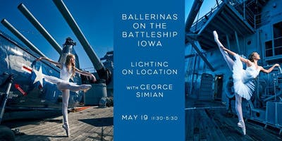 Lighting ON Location: Ballerinas on the Battleship Iowa with George Simian