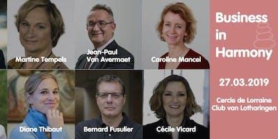 Conférence Business in Harmony : Un monde entrepreneurial où la complémentarité des compétences prime sur la question du genre. Une utopie ?