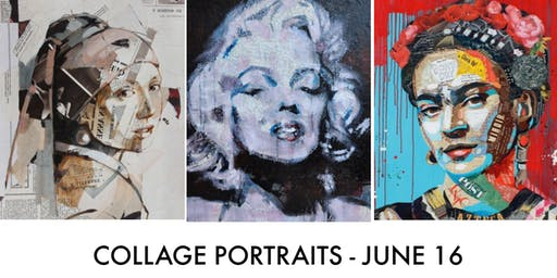 One DayWorkshop - Collage & Mixed Media Portraits