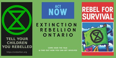 Extinction Rebellion Ontario - The Talk