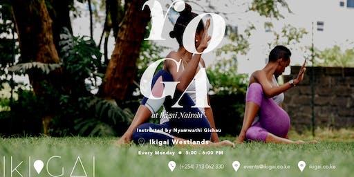 Yoga at Ikigai Nairobi (Westlands)