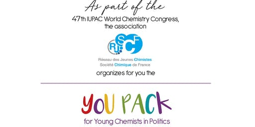 You Pack for Young Chemists in Politics EVENT