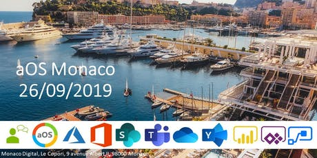 Journée aOS Monaco - 26 septembre 2019 billets