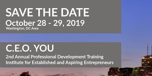 C.E.O. YOU! 2-Day Professional Development Training for Entrepreneurs
