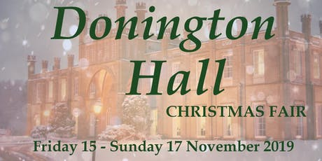 Donington Hall Christmas Fair tickets