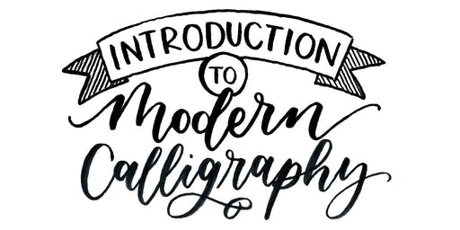 Introduction to Modern Calligraphy Creative Craft Class