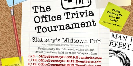 The Office Trivia Tournament - Preliminary Round 4 tickets