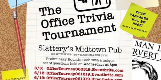 The Office Trivia Tournament - Preliminary Round 4