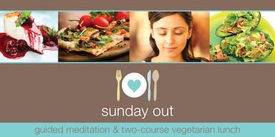 Sunday Out Jun - Meditation & Veggie Lunch