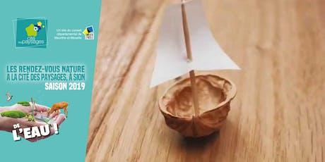 Atelier bricolage: Origami et bricolages aquatiques. billets