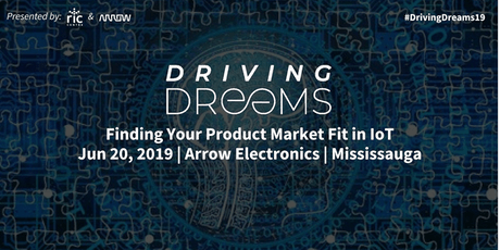 Driving Dreams 2019: Finding Product Market Fit in IoT tickets