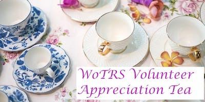WoTRS Volunteer Appreciation Tea 2019