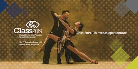 Class 2019 entradas