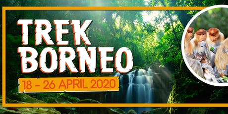 Trek Borneo 2020 tickets