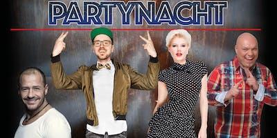 Party Nacht Berlin - mit Melanie Müller, Willi Herren, Honk und Buddy