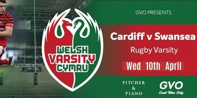 Varsity Official Afterparty 2019 | Swansea