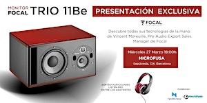 PRESENTACIÓN MONITORES TRIO11 BE DE FOCAL, EN...