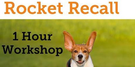 Rocket Recall Workshop, DSPCA, Rathfarnham tickets