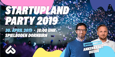 Startupland Party 2019
