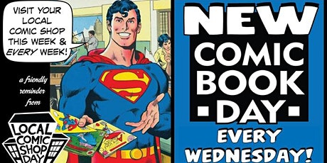 New Comic Book Day tickets