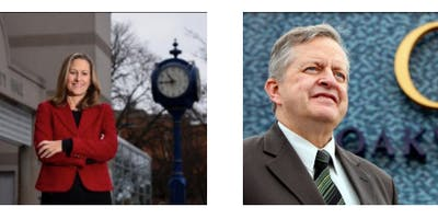 A Tale of Two Cities: A Conversation with Mayors Meed Ward and Burton