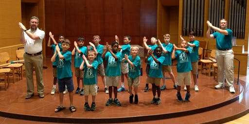 Boys' Summer Singing Camp 2019