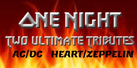 Ultimate Tribute Night w/ Bon/Fire and Heartless tickets