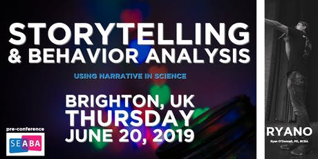 Storytelling & Behavior Analysis: Using Narrative in Science tickets