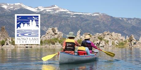Mono Lake Canoe Tours tickets