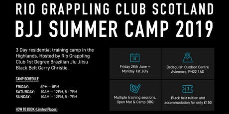 Rio Grappling Club/Garry Christie BJJ Summer Cmp 2019 tickets