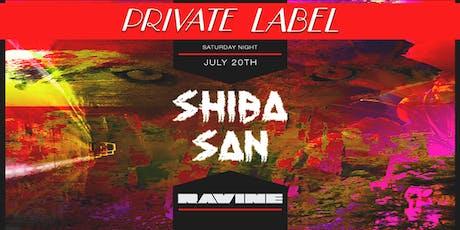 Private Label: Shiba San - Ravine Atlanta tickets