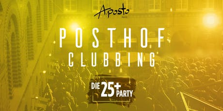 Posthof Clubbing (Ü25 Party) Tickets