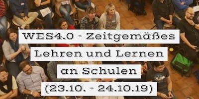 WES4.0 - Zeitgemäßes Lehren und Lernen an Schulen  (23.10. - 24.10.19)