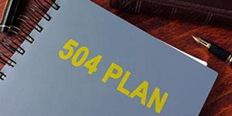 What Should I Know about 504 Plans? tickets