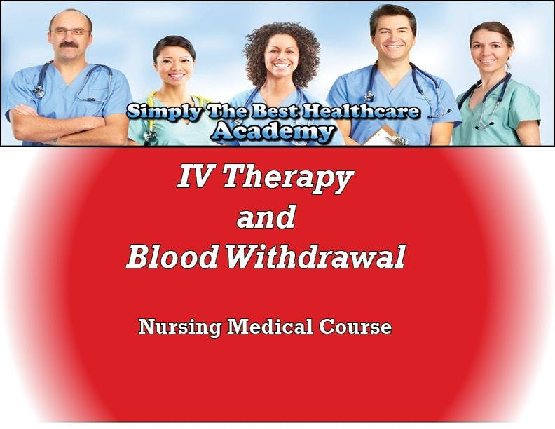 IV Therapy and Blood Withdrawal Course- Sprin