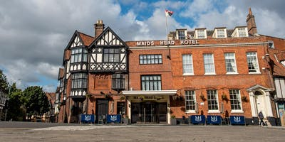 Tour of the Maids Head Hotel with Norwich Tour Guide, Paul Dickson