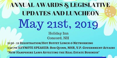 May 21st Awards & Legislative Updates Luncheon