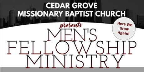 Cedar Grove MBC Men's Fellowship tickets