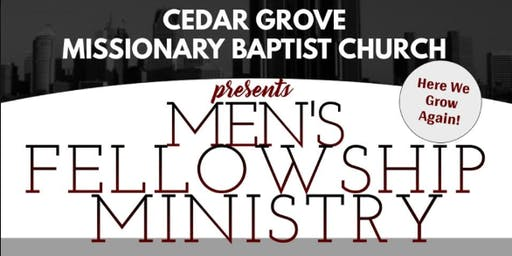 Cedar Grove MBC Men's Fellowship