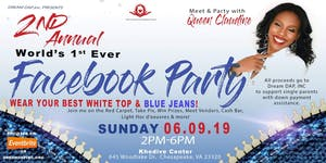 1st EVER Facebook Party-2nd Annual White Top Blue...