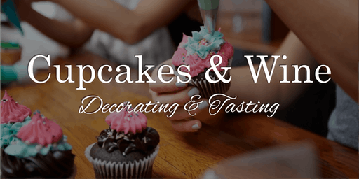 Cupcake Decorating & Wine Tasting