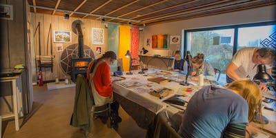 LINO PRINTING WORKSHOP with Hugh Dunford Wood
