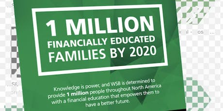 I'am a financial professional on a mission to deliver the best financial education and revolutionize the financial service industry through a reliable, build-able system. I want to bring Wall Street to Main Street, and vice versa. tickets