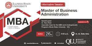 Illinois State University - Reunión Informativa MBA