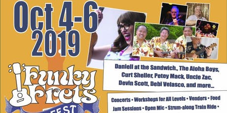 Funky Frets 5th Annual Ukulele Festival tickets