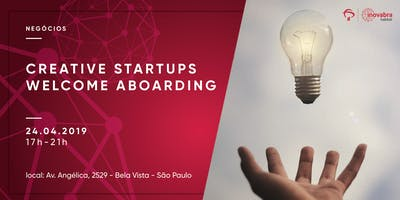 Creative Startups Welcome Aboard