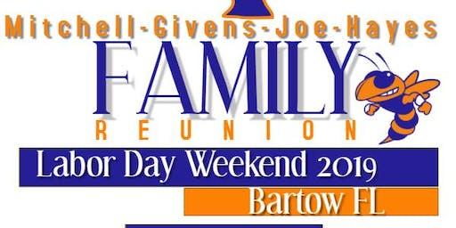 Mitchell-Givens-Joe-Hayes Family Reunion