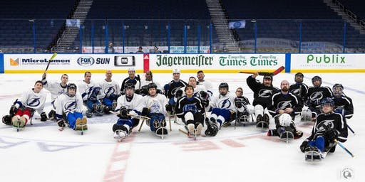 2019 Tampa Bay Lightning Sled Hockey Summer Camp
