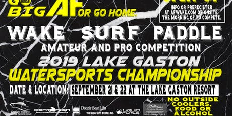 Lake Gaston Watersports Championship tickets